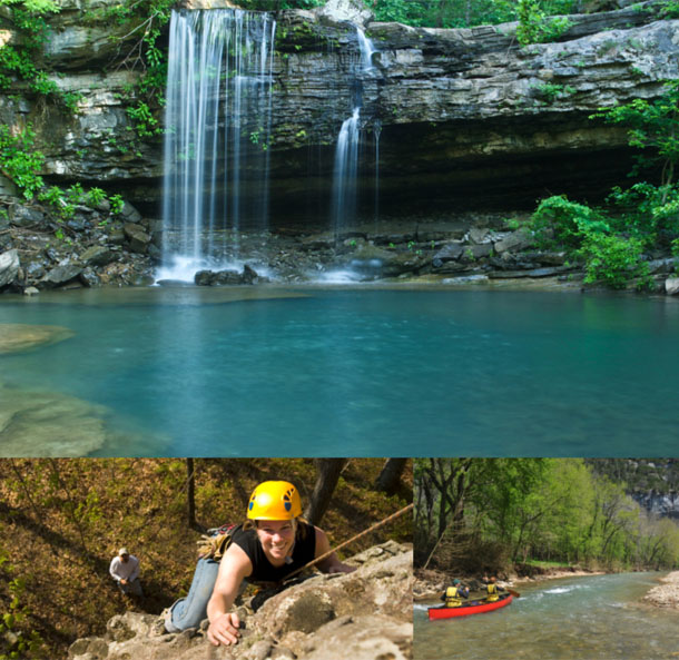 Arkansas Adventure Collage