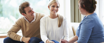 Counselor Advising Couple On Relationship Difficulties